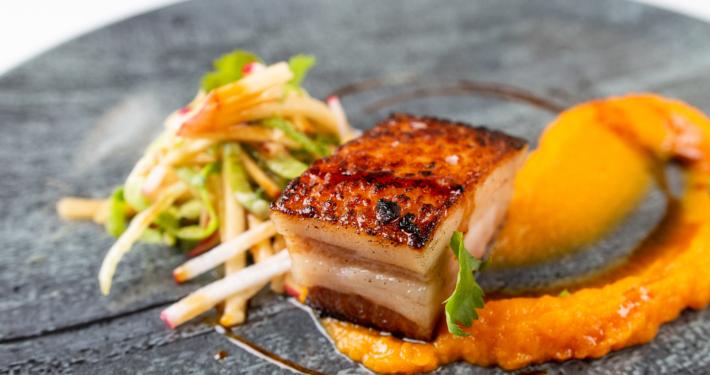 Maple Pork Belly by Chris Aerni